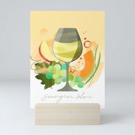 Wine Notes – Sauvignon Blanc Mini Art Print
