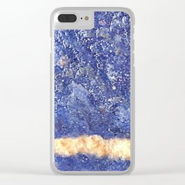 Sodalite Clear iPhone Case