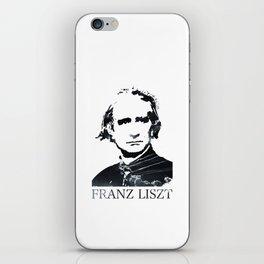 Franz Liszt iPhone Skin