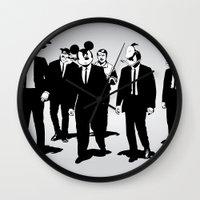 Walt's Protection Crew Wall Clock
