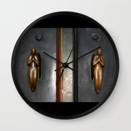 Holdings Angels Wall Clock