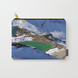 Tongariro lake view 2 Carry-All Pouch