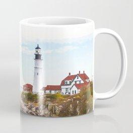 Protecting Portland ~ Port Head Lighthouse Coffee Mug