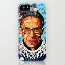 Ruth Ginsburg iPhone Case