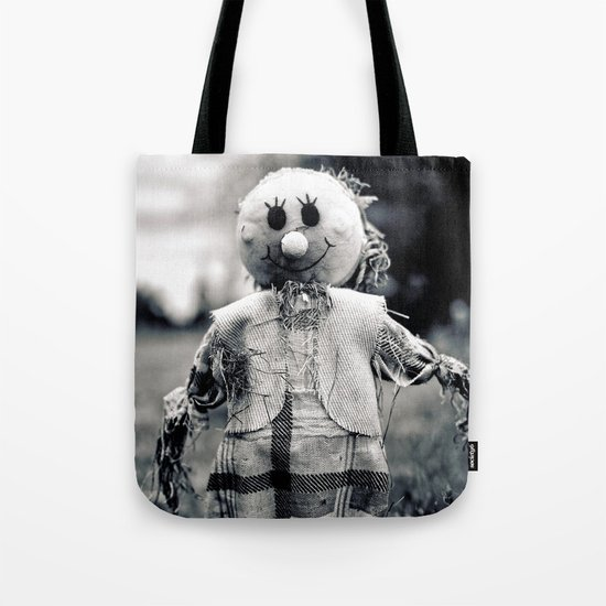 Cemetery smiley face Tote Bag