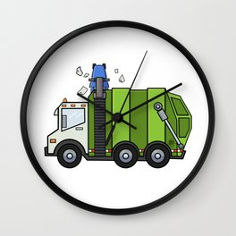 Recycle Truck Wall Clock