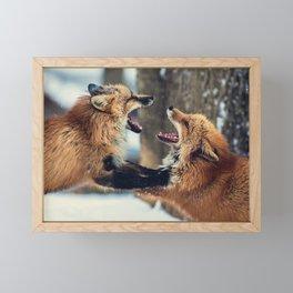 Ultimate Foxing Championship Framed Mini Art Print