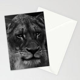 Her Majesty the Lioness Stationery Cards