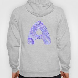 Letter A in ethnic style  Hoody