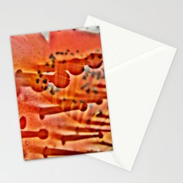 The metal base of gold Stationery Cards