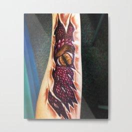Smaug's Eye Metal Print