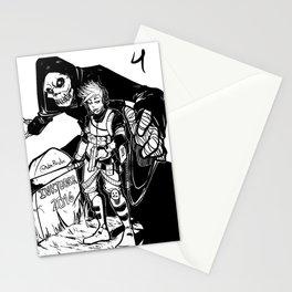 Inktober 2016 - Soldier Stationery Cards