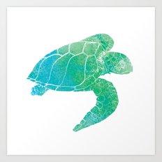 Sea Turtle II Art Print