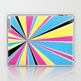 CMYK Star Burst Laptop & iPad Skin