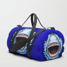 Shark Jaws Attack Duffle Bag