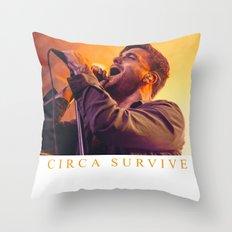 CIRCA SURVIVE Throw Pillow