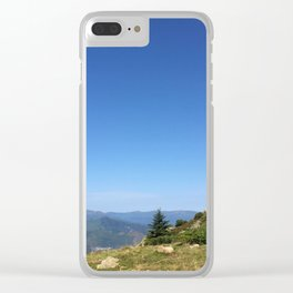 View on the summits Clear iPhone Case
