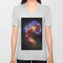 The Antennae Galaxies Unisex V-Neck