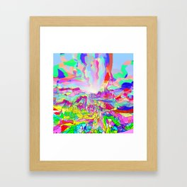 Badlands USA Framed Art Print