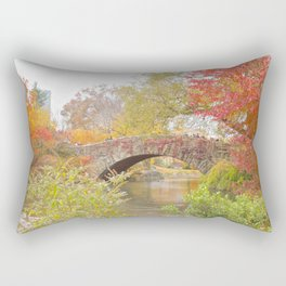 Fall in Central Park, NYC Rectangular Pillow