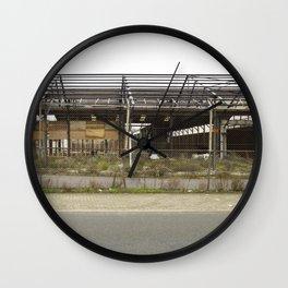 Grey Industrial Beauty Wall Clock