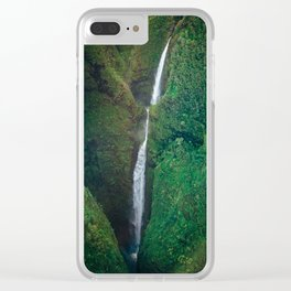 Sacred Falls Clear iPhone Case