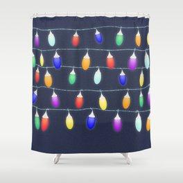 Fairylights Shower Curtain