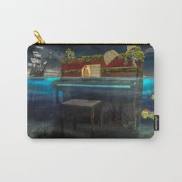 Sunken Piano Carry-All Pouch