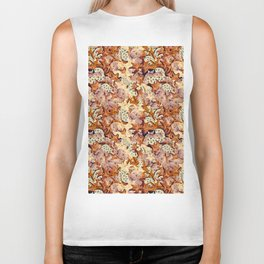 Starfish and seashells Biker Tank