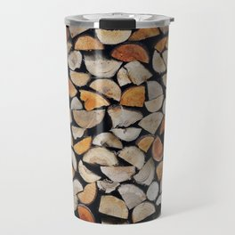 Chopped Wood Travel Mug
