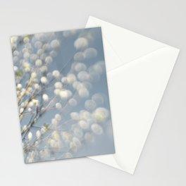 Spring blossom bokeh Stationery Cards