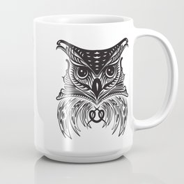 Black Owl Coffee Mug