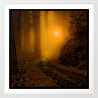 The Forest (4:33am) Art Print