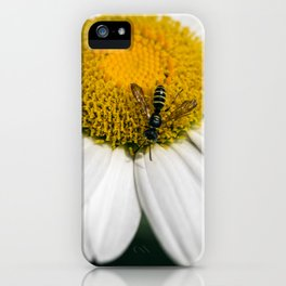 Hungry Bumble Bee iPhone Case