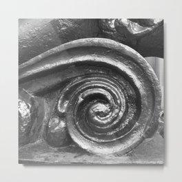 Vibrant city . Art object coupon , interiordecor . antique4 Metal Print