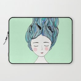 Dreaming of whales Laptop Sleeve