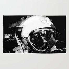 Space Dog Rug