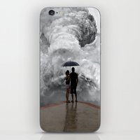 storm iPhone & iPod Skins featuring Storm by Cs025