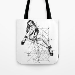 Samael Lilith and the Golden ratio Tote Bag