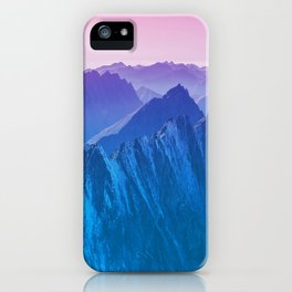 Mountains 2017 iPhone Case