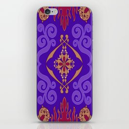 Aladdin Purple Magic Carpet iPhone Skin