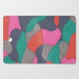Interlocking Colors Cutting Board