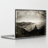 switzerland Laptop & iPad Skins featuring Vintage Switzerland by breezy baldwin