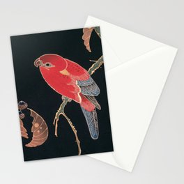 Red Parrot on the Branch of a Tree by Ito Jakuchu, 1900 Stationery Cards