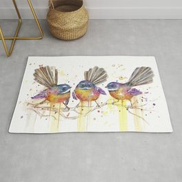 Cheeky Fantails Rug