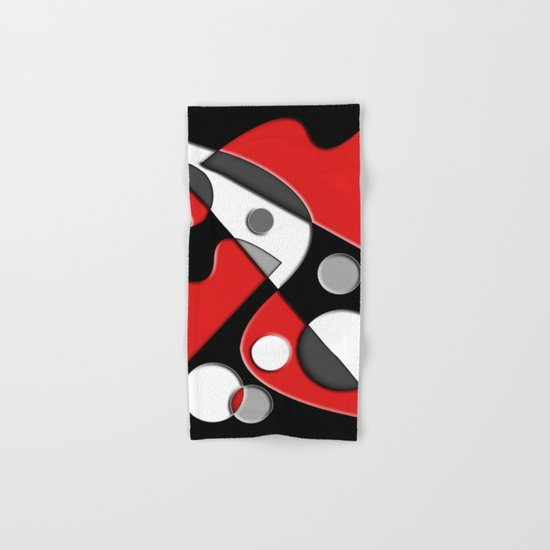 Abstract #517 Hand & Bath Towel