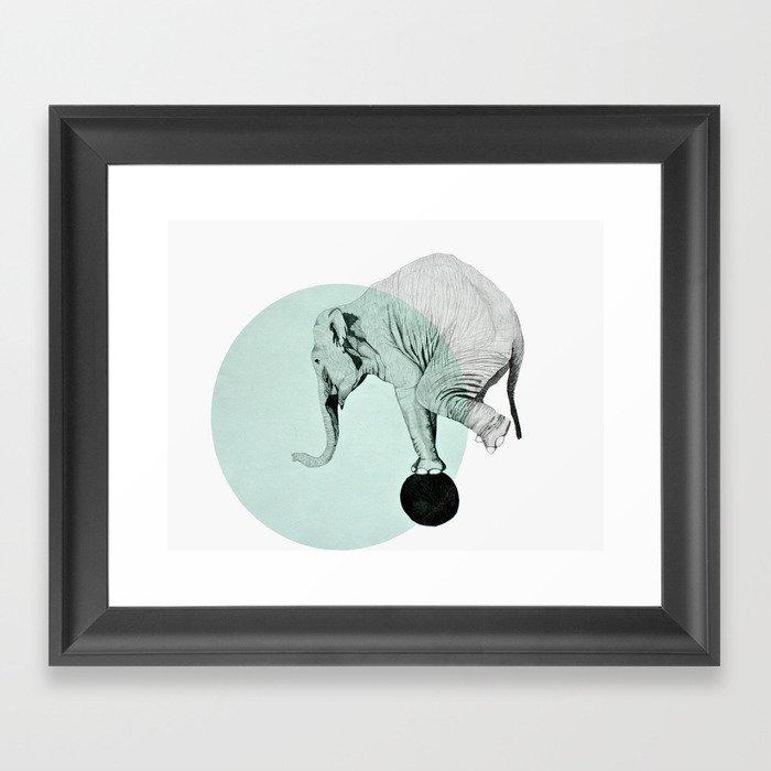 elephant Framed Art Print