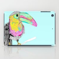 toucan iPad Cases featuring Toucan by caseysplace
