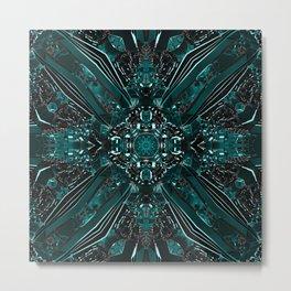 Quantum Ribbon Portal Metal Print