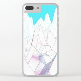 lowly loo Clear iPhone Case